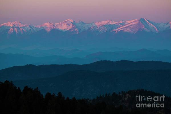 Photograph - Sangre Mountain Morning by Steve Krull