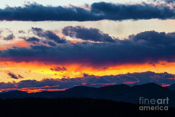 Photograph - Sangre Sunset by Steve Krull