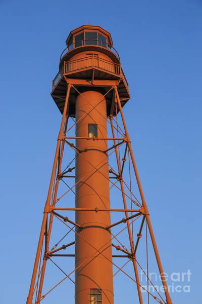 Photograph - Sanibel Island Lighthouse by Edward Fielding