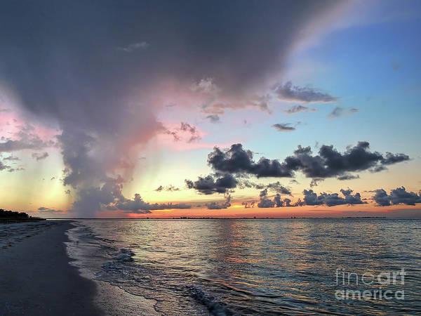 Photograph - Sanibel Island Sunrise by Jeff Breiman