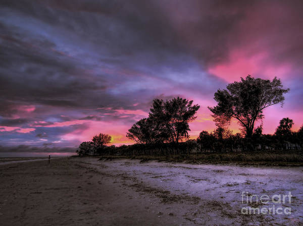 Photograph - Sanibel Island Twilight by Jeff Breiman
