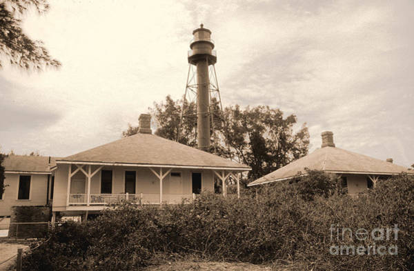 Photograph - Sanibel Light House by Richard Nickson