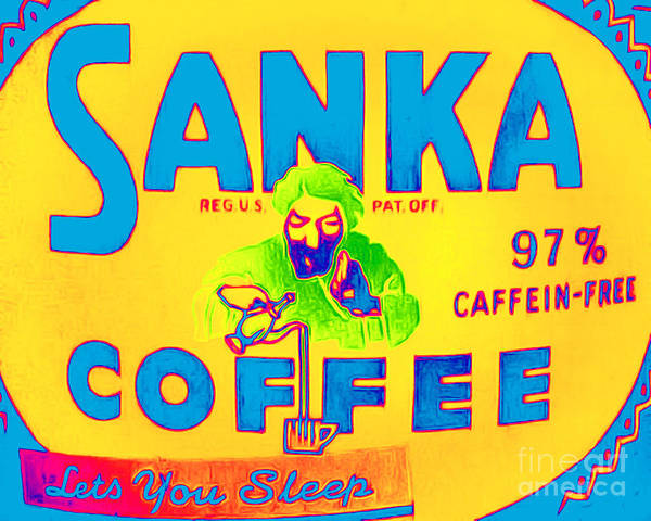 Peet Photograph - Sanka Coffee Lets You Sleep 20160213 by Wingsdomain Art and Photography