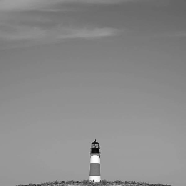 Sankaty Head Lighthouse Nantucket Art Print