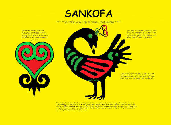 Digital Art - Sankofa Knowledge by Adenike AmenRa