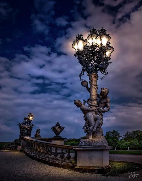 Photograph - Sans Souci Lamppost by Endre Balogh
