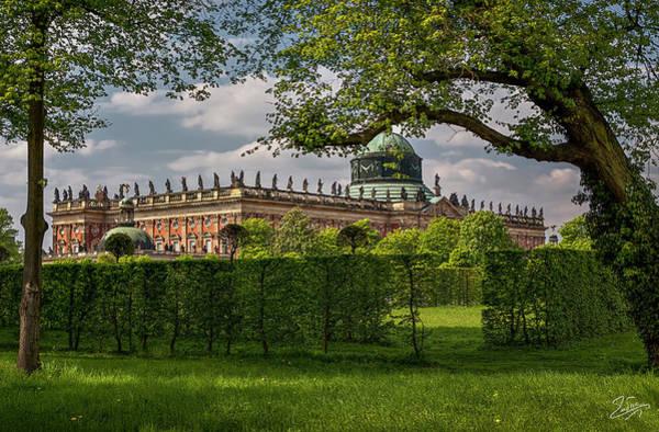 Photograph - Sans Souci Main Castle by Endre Balogh