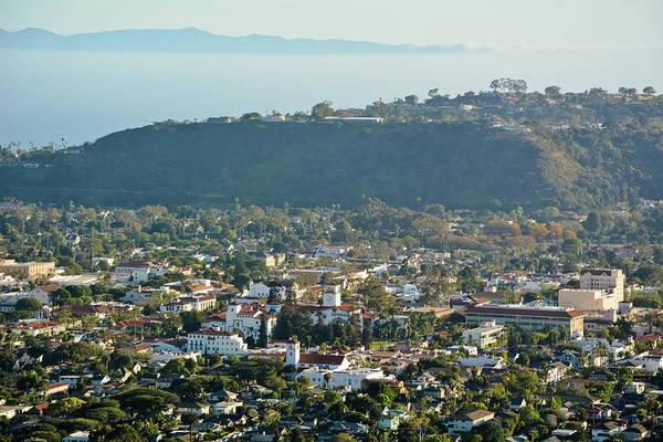 Photograph - Santa Barbara Cityscape by Kyle Hanson