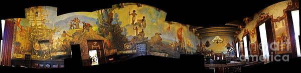 Photograph - Santa Barbara Hall Of Murals by Clayton Bruster