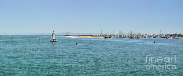 Photograph - Santa Barbara Harbor by Joe Lach