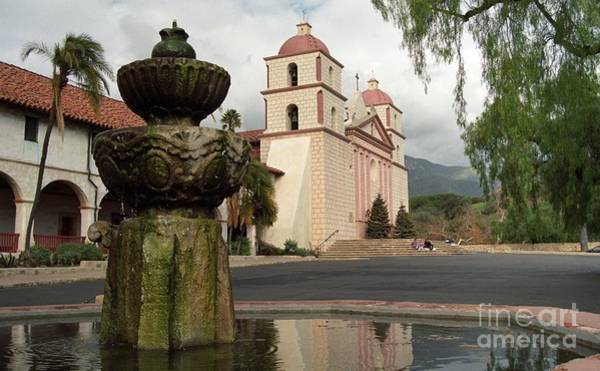 Photograph - Santa Barbara Mission by James B Toy