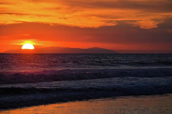 Art Print featuring the photograph Santa Catalina Island Sunset by Kyle Hanson