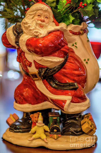 Photograph - Santa Claus by Dale Powell