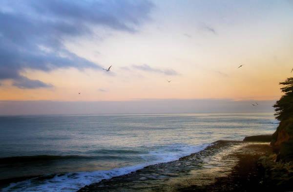 Pacific Ocean Digital Art - Santa Cruz 1 by Terry Davis
