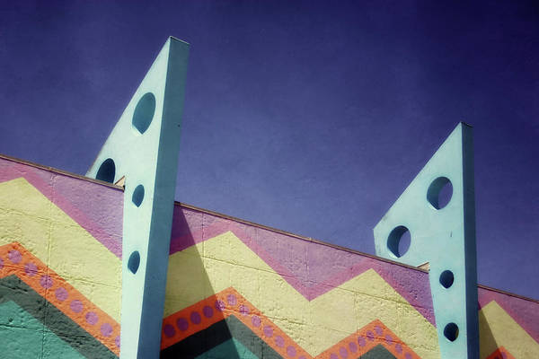 Wall Art - Mixed Media - Santa Cruz Boardwalk - Photography  By Linda Woods by Linda Woods