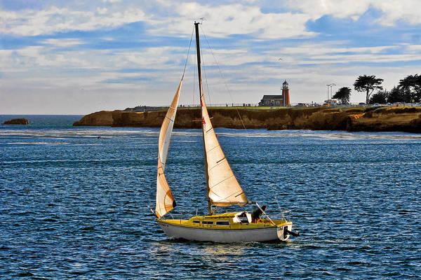 Photograph - Santa Cruz Mark Abbott Memorial Lighthouse Ca  by Christine Till