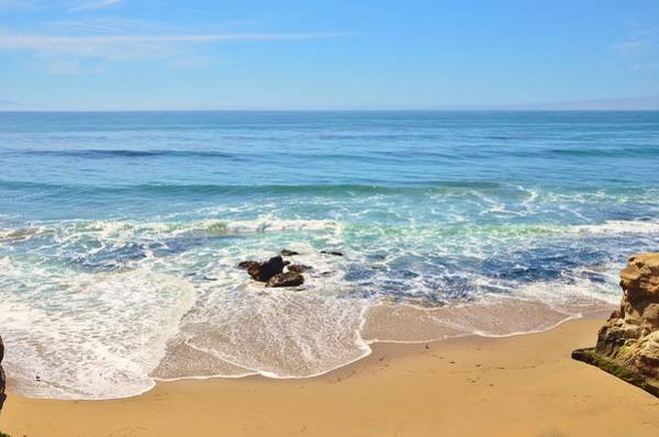 Photograph - Santa Cruz Private Beach by Marilyn MacCrakin