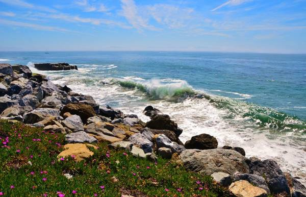 Photograph - Santa Cruz Surf by Marilyn MacCrakin