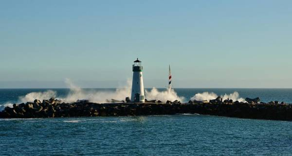 Photograph - Santa Cruz Walton Lighthouse by Marilyn MacCrakin