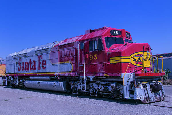 Santa Photograph - Santa Fe 95 by Garry Gay
