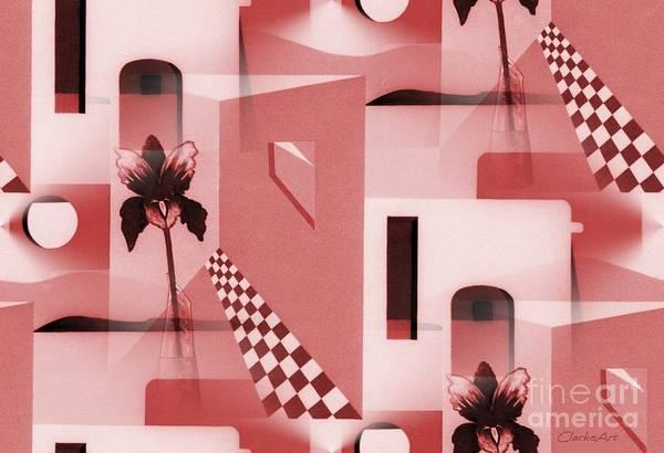 Digital Art - Santa Fe Adobe - #2 by Jean Clarke