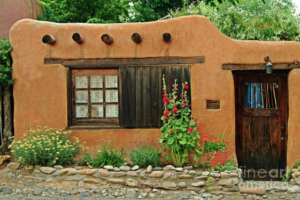 Photograph - Santa Fe Adobe by Charlene Mitchell