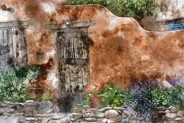 Wall Art - Mixed Media - Santa Fe House 1 by Kevin O'Hare