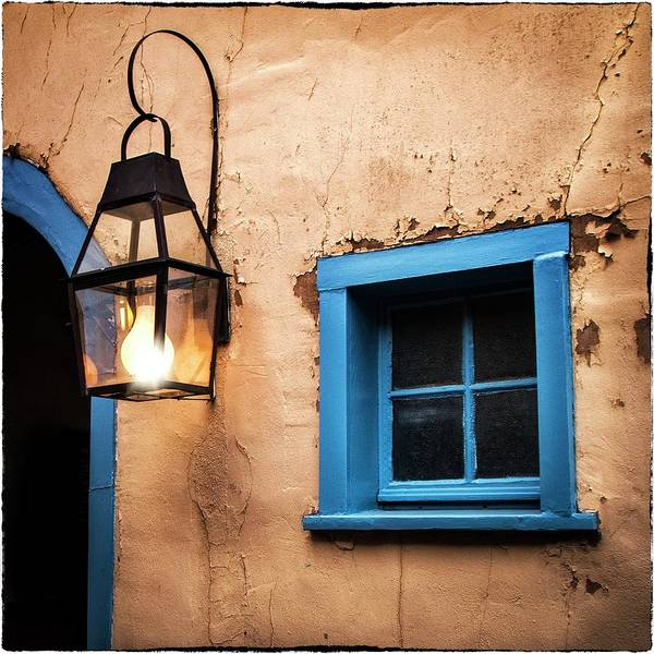 Photograph - Santa Fe Lighting  by Harriet Feagin