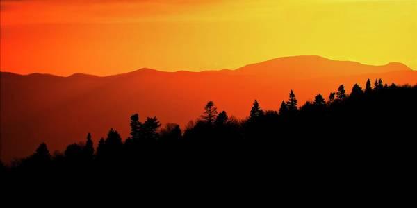Photograph - Santa Fe National Forest Sunset by Flying Z Photography by Zayne Diamond