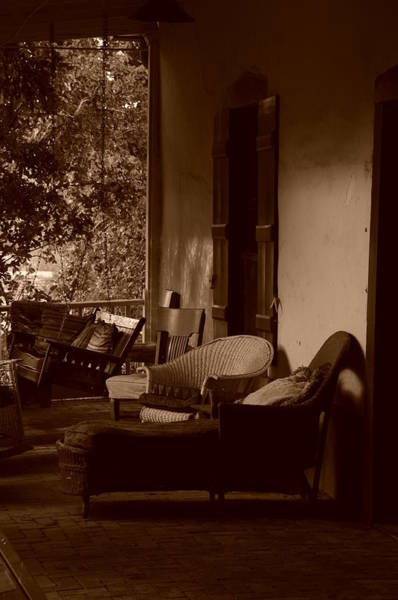 Photograph - Santa Fe Porch by Susie Rieple