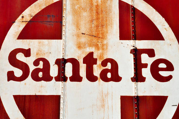 Photograph - Santa Fe Railway by Kyle Hanson