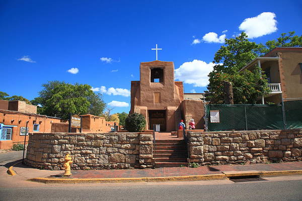 Photograph - Santa Fe - San Miguel Chapel 6 by Frank Romeo