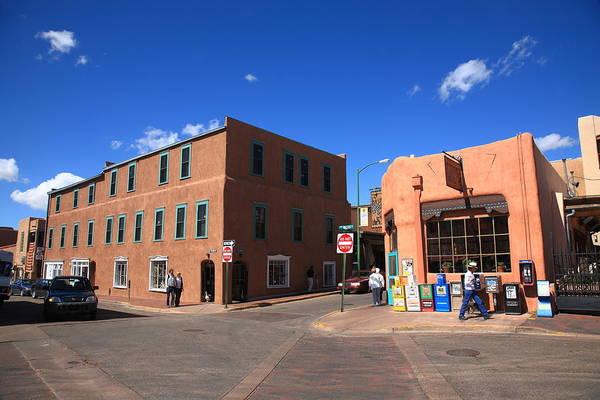 Photograph - Santa Fe Streets by Frank Romeo