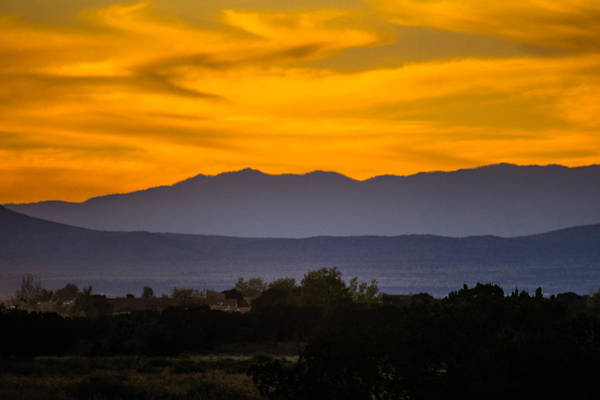 Photograph - Santa Fe Sunset by Robin Zygelman