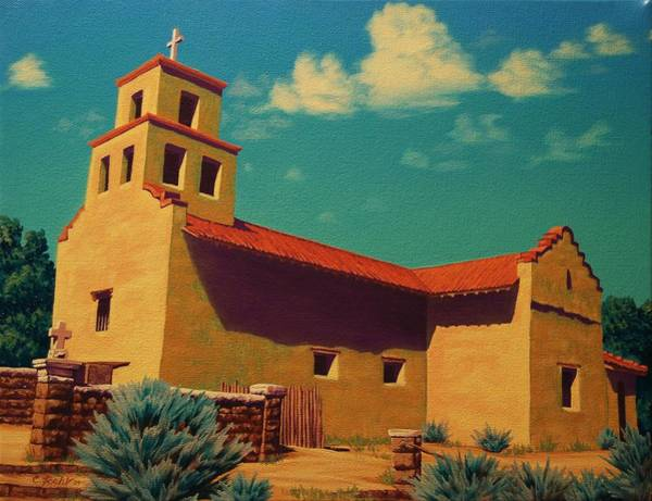 Painting - Santa Fe Tradition by Cheryl Fecht