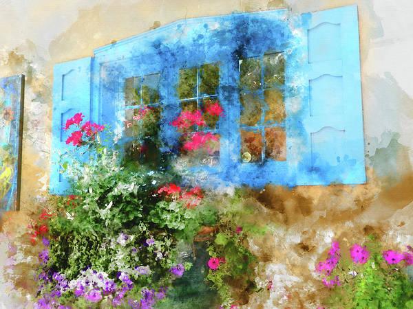 Wall Art - Mixed Media - Santa Fe Window by Kevin O'Hare