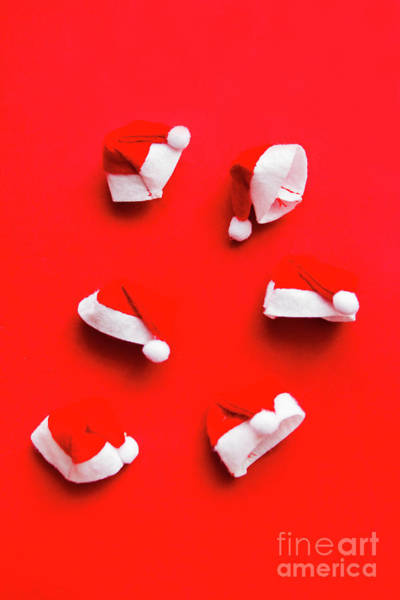 Cap Photograph - Santa Hat Party by Jorgo Photography - Wall Art Gallery