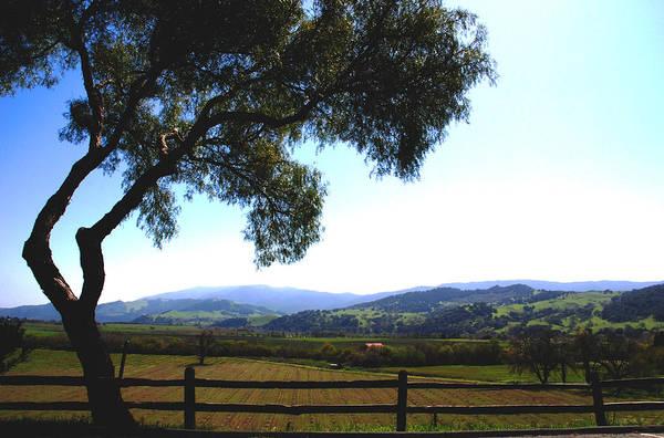 Photograph - Santa Inez Valley View by Susanne Van Hulst