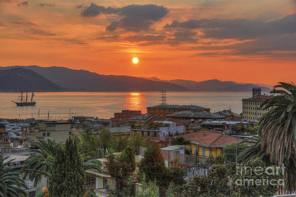 Photograph - Santa Margherita Sunrise by Spencer Baugh
