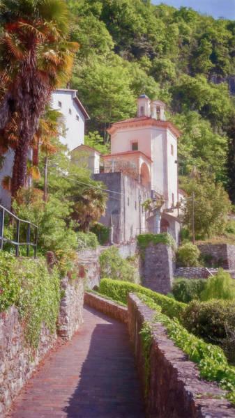Photograph - Santa Maria Della Pace Menaggio Italy by Joan Carroll