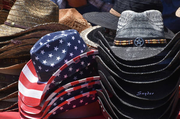 Photograph - Santa Maria Elks Rodeo Cowboy Hats by Floyd Snyder