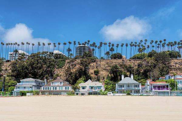 Photograph - Santa Monica Beach Front by Michael Hope