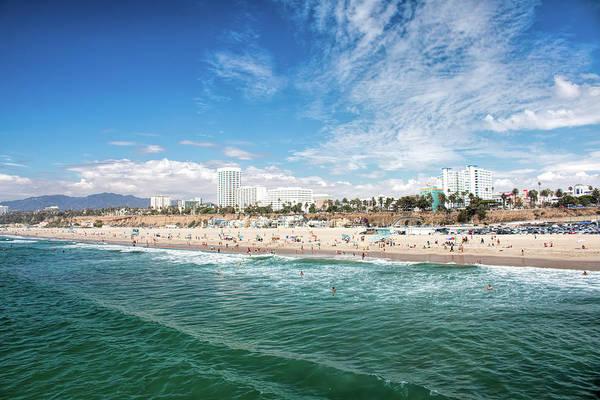 Photograph - Santa Monica Beach by Kristia Adams