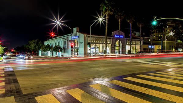 Photograph - Santa Monica City Lights by Gene Parks
