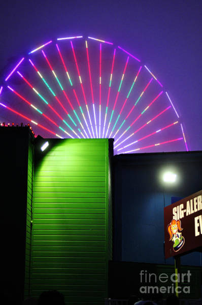 Photograph - Santa Monica Pier After Dark by Clayton Bruster