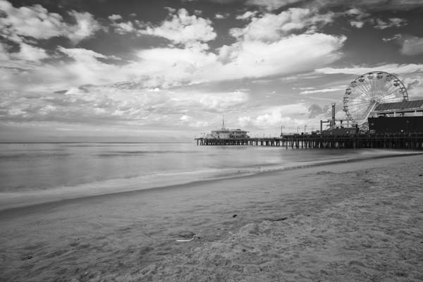 Photograph - Santa Monica Pier And Ferris Wheel by Gene Parks