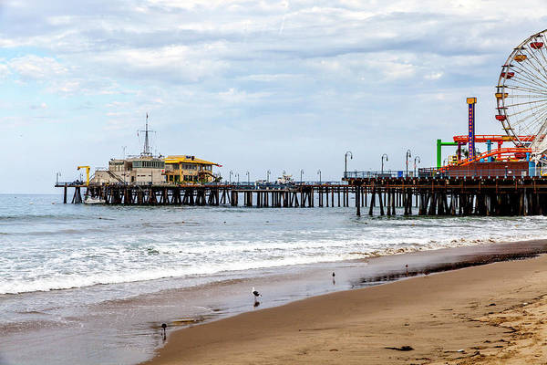 Photograph - Santa Monica Pier Collection- 1/36 by Gene Parks