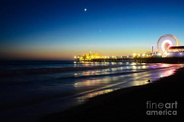 Santa Monica Pier Photograph - Santa Monica Pier by Kelly Wade