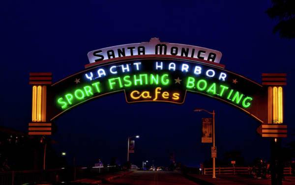 Santa Monica Pier Photograph - Santa Monica Pier by Mountain Dreams