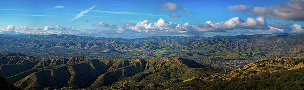 Photograph - Santa Susana Mountains Panorama by Lynn Bauer